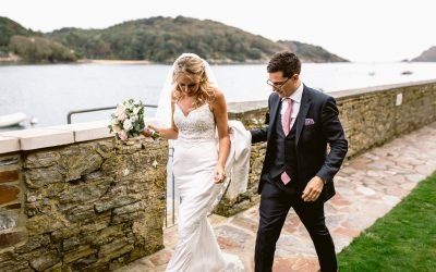 Salcombe Harbour Hotel wedding of Ruth and Howard